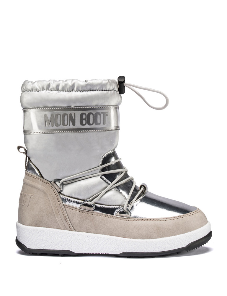 Moon Boots JR Girl Soft in silver