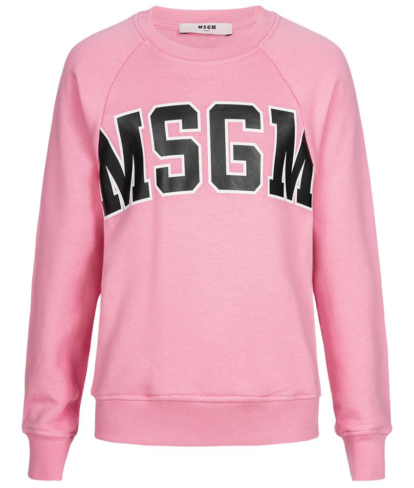 MSGM Logo Sweatshirt rosa