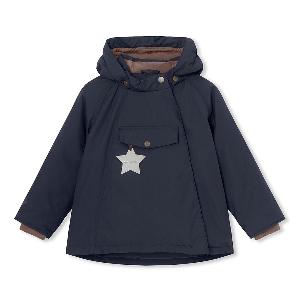 Mini A Ture Funktions Winterjacke Wang - dunkelblau