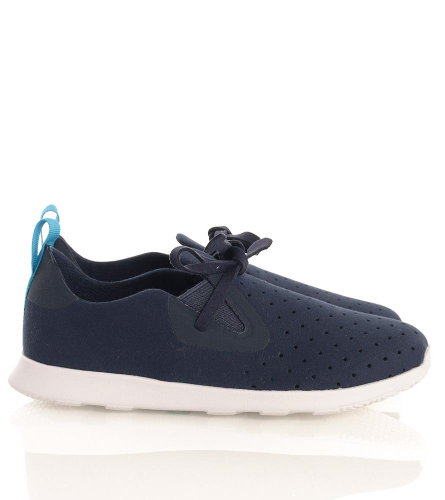 Native light sneakers Apollo Moc in blue (vegan)