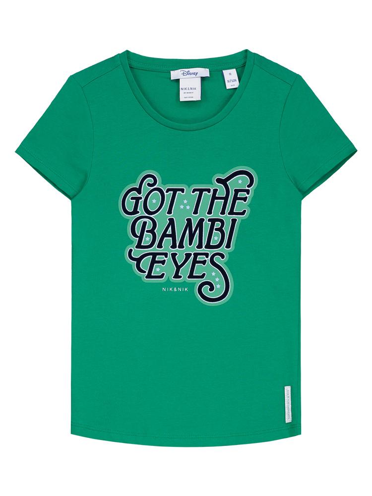 Nik&Nik T-Shirt mit Print in grün