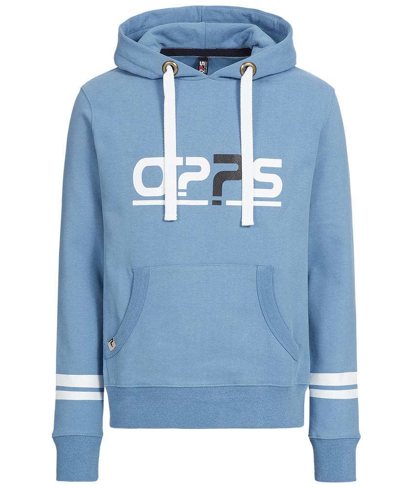 O??S Platinum unisex hoodie - blue