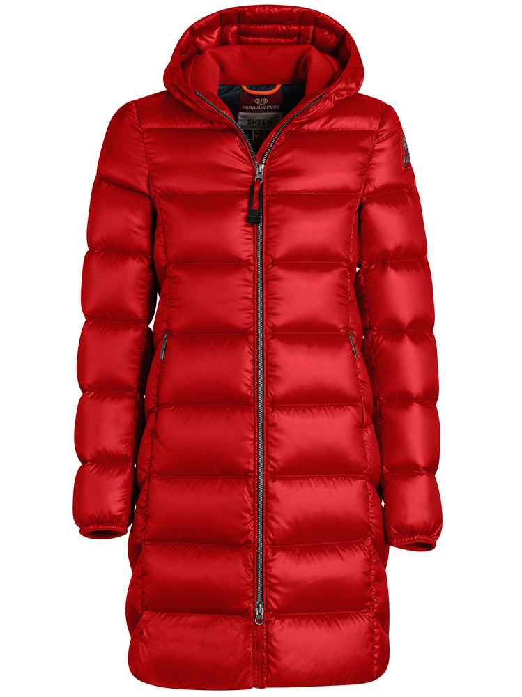 Parajumpers down coat Leah in red