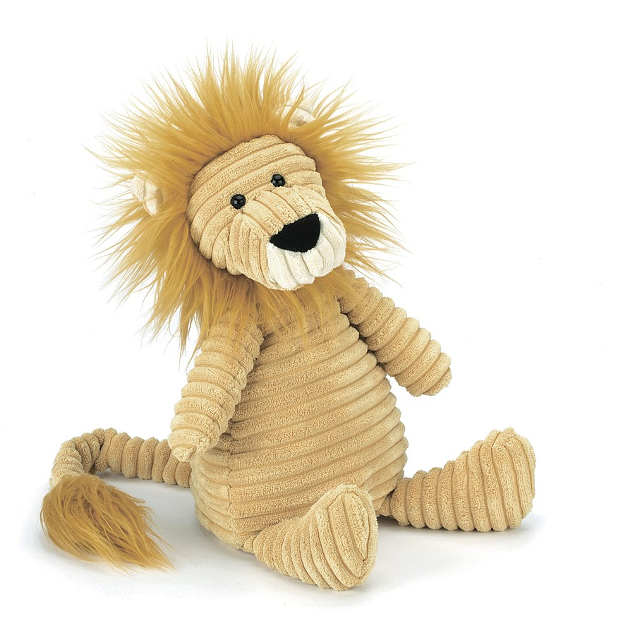 Jellycat Cordy Roy Lion in gelb