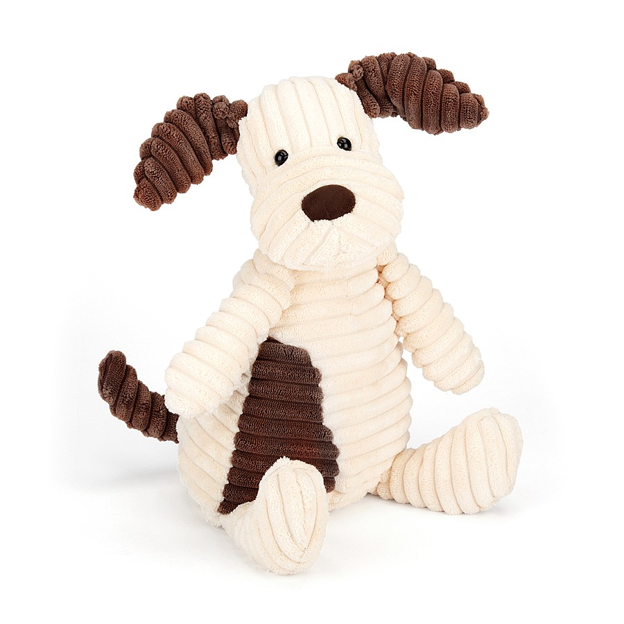 Jellycat Cordy Roy dog in white