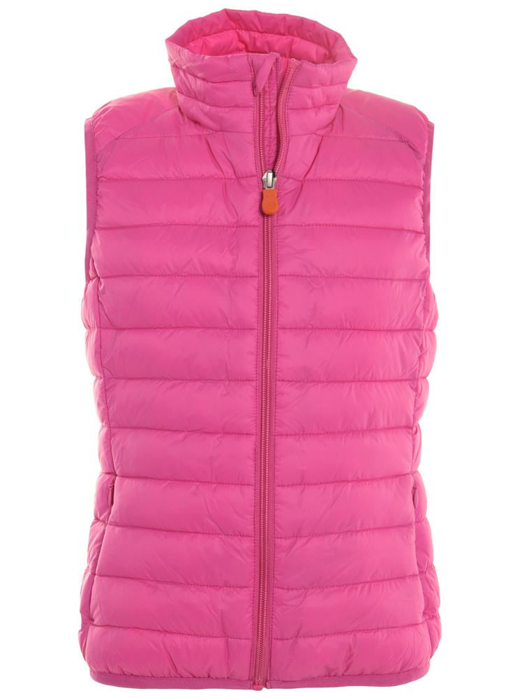 GIGA4 Kinderweste aus Plumtech in pink