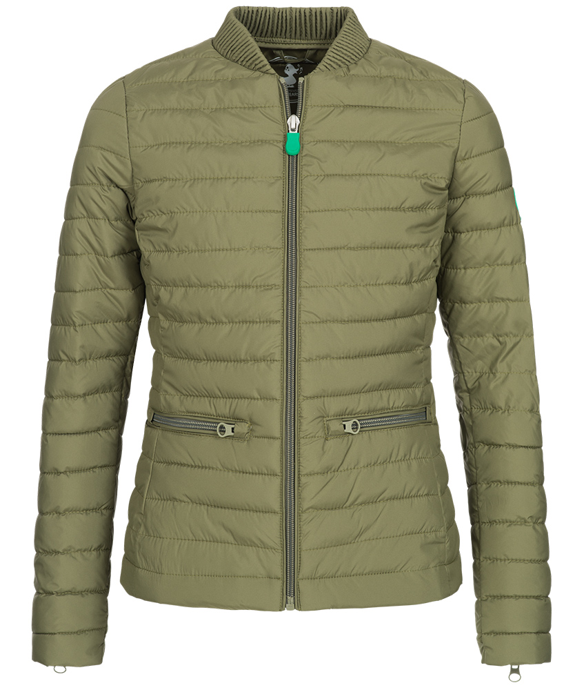 Save the Duck Recy6 bomber jacket in green