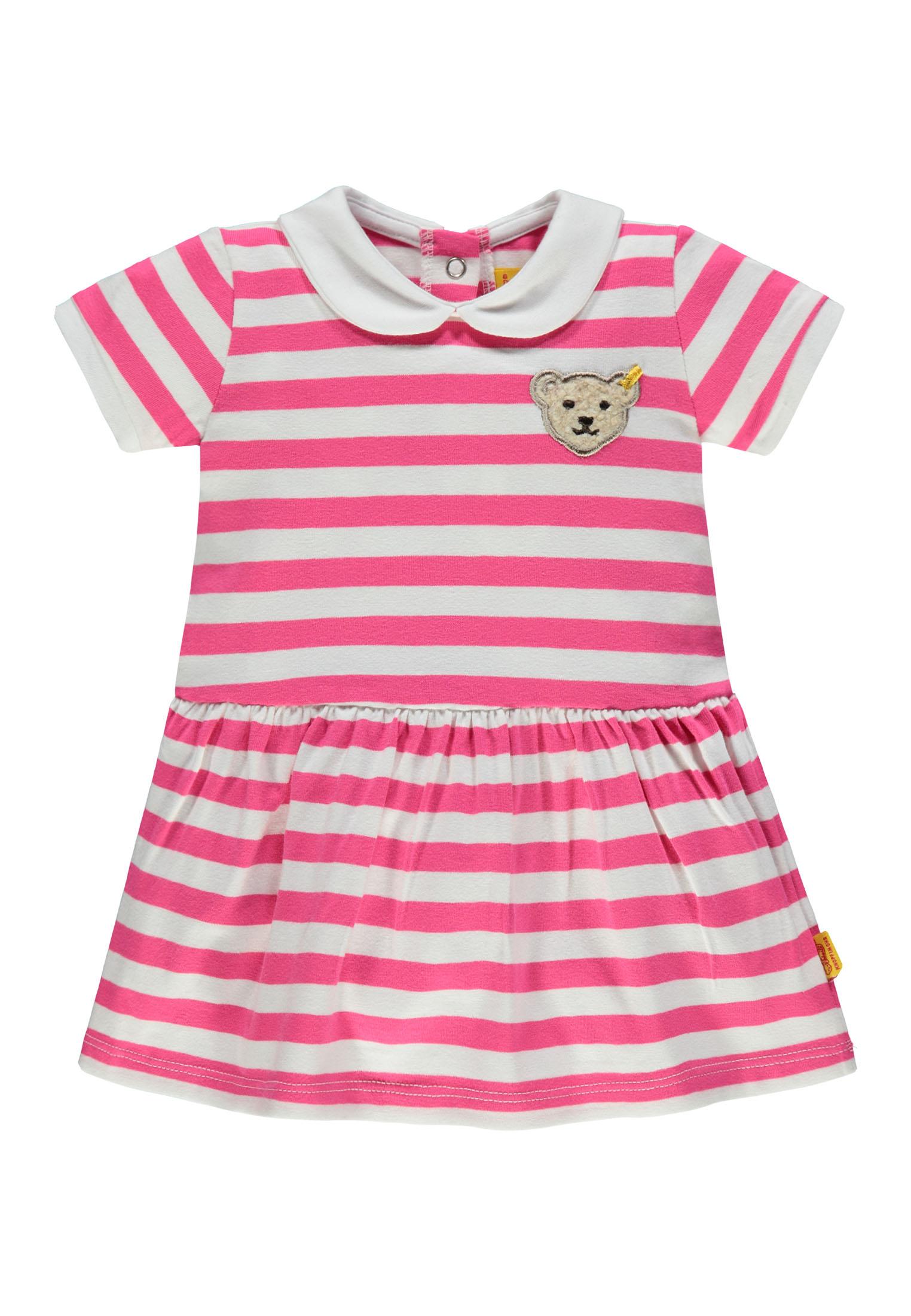 f0ac6d2482ce Kids Style Lounge   Steiff Baumwollkleid in pink   Kindermode online ...