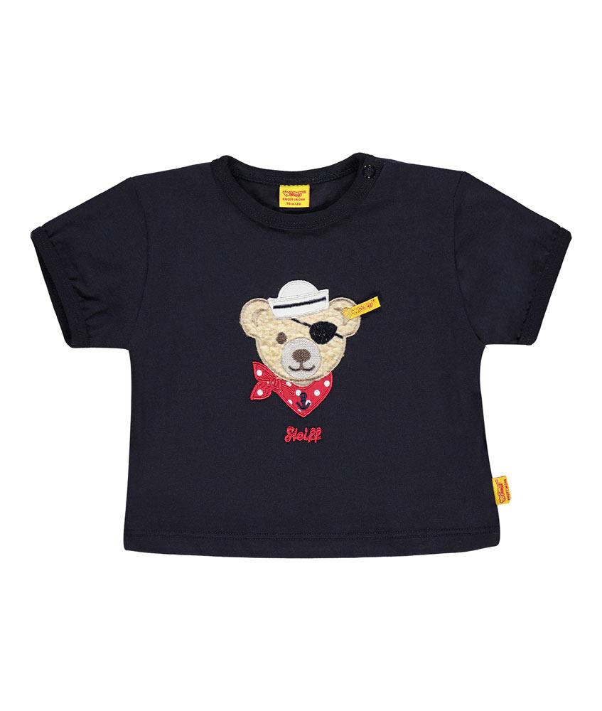 Steiff Shirt mit Pirat-Teddy in marine