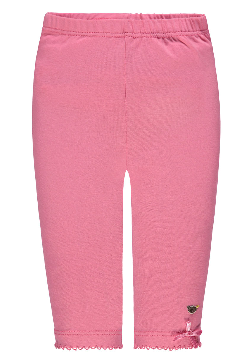 Steiff Baby Legging mit Schleifchen in rosa