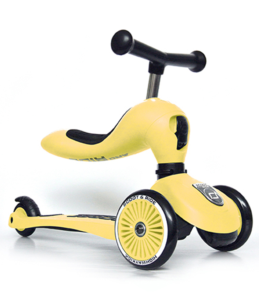 Scoot & Ride 2 in 1 Highwaykick1 - lemon