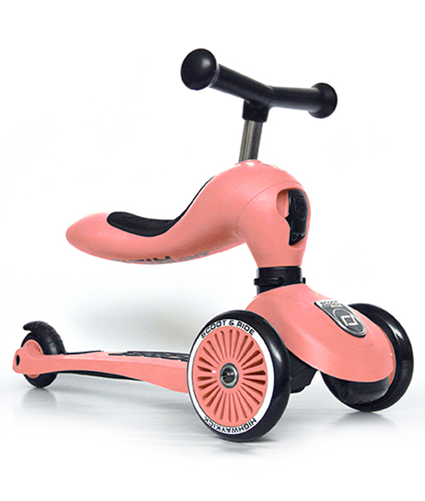 Scoot & Ride 2 in 1 Highwaykick1 - peach