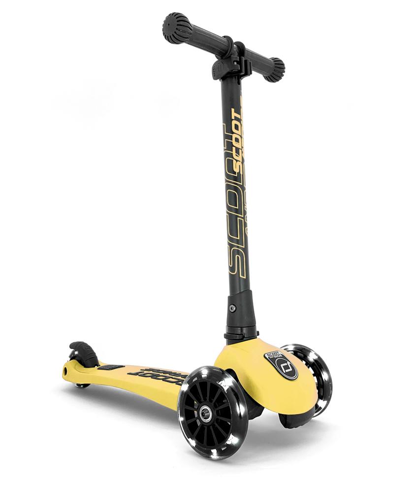 Scoot & Ride Highwaykick 3 - lime-gelb