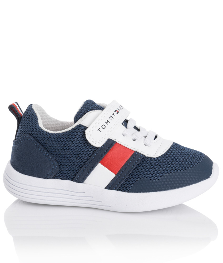 Tommy Hilfiger sneaker with velcro - navy
