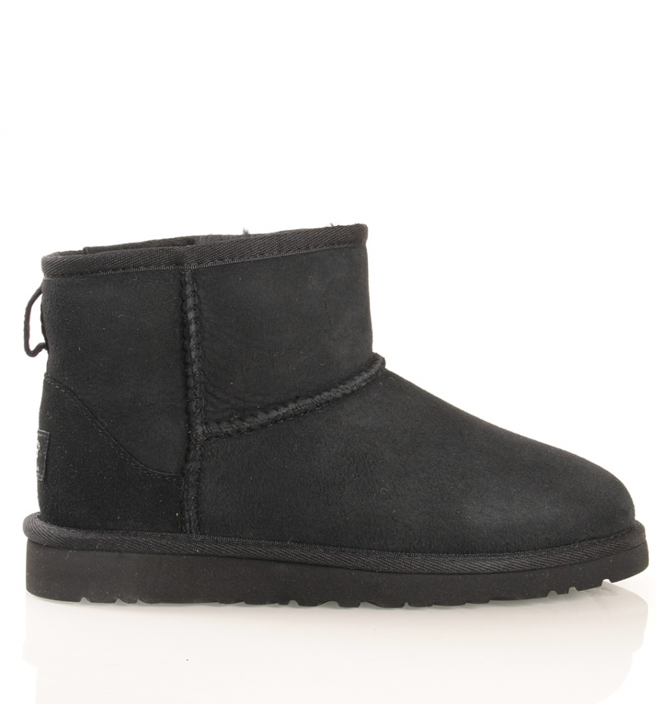 UGG Kids Mini in schwarz