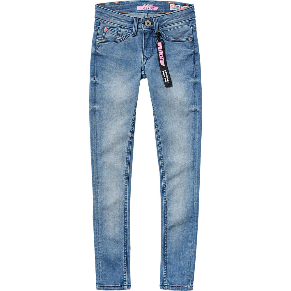 Vingino Skinny Jeans Barbera Flexfit - blau