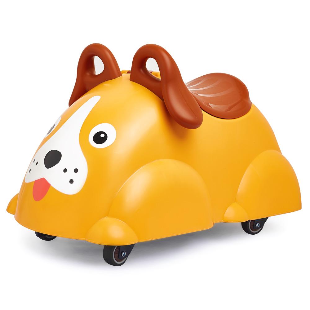 Viking Toys Cute Rider Rutscheauto Hund - gelb