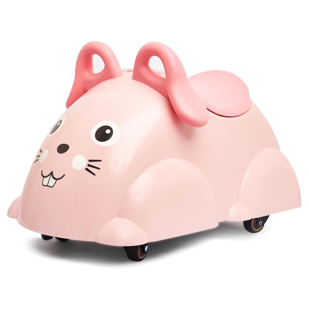Viking Toys Cute Rider Rutscheauto Hase - rosa