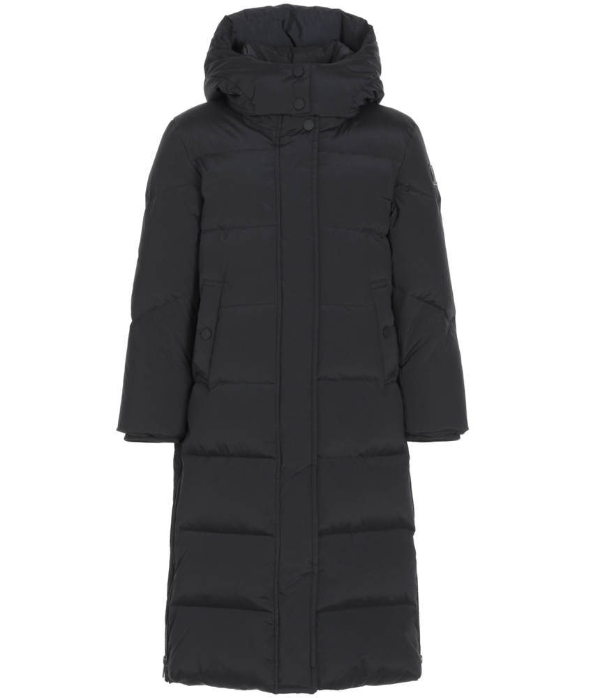 Woolrich Aurora Long Parka Girl - black