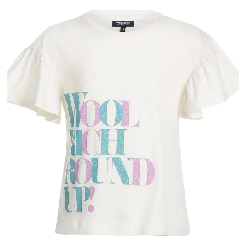 Woolrich Logo T-Shirt - creme