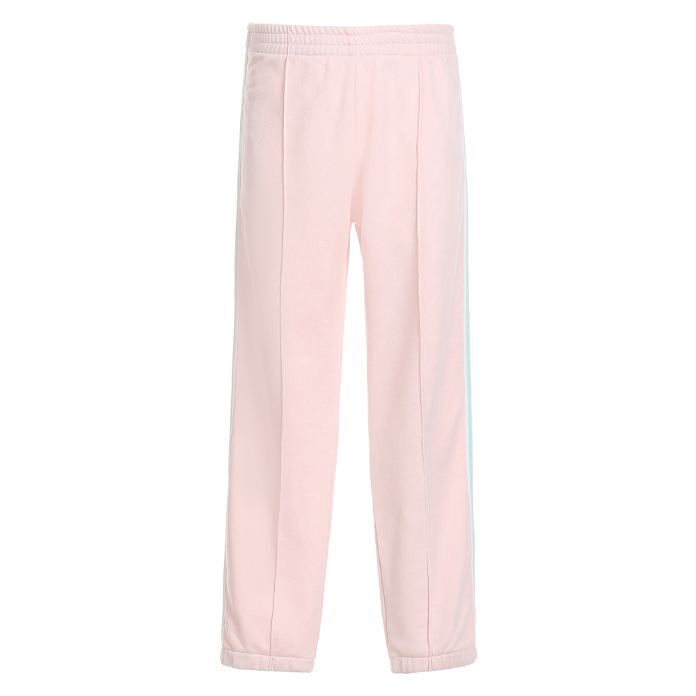Woolrich jogg pants with track stripes girl - pink