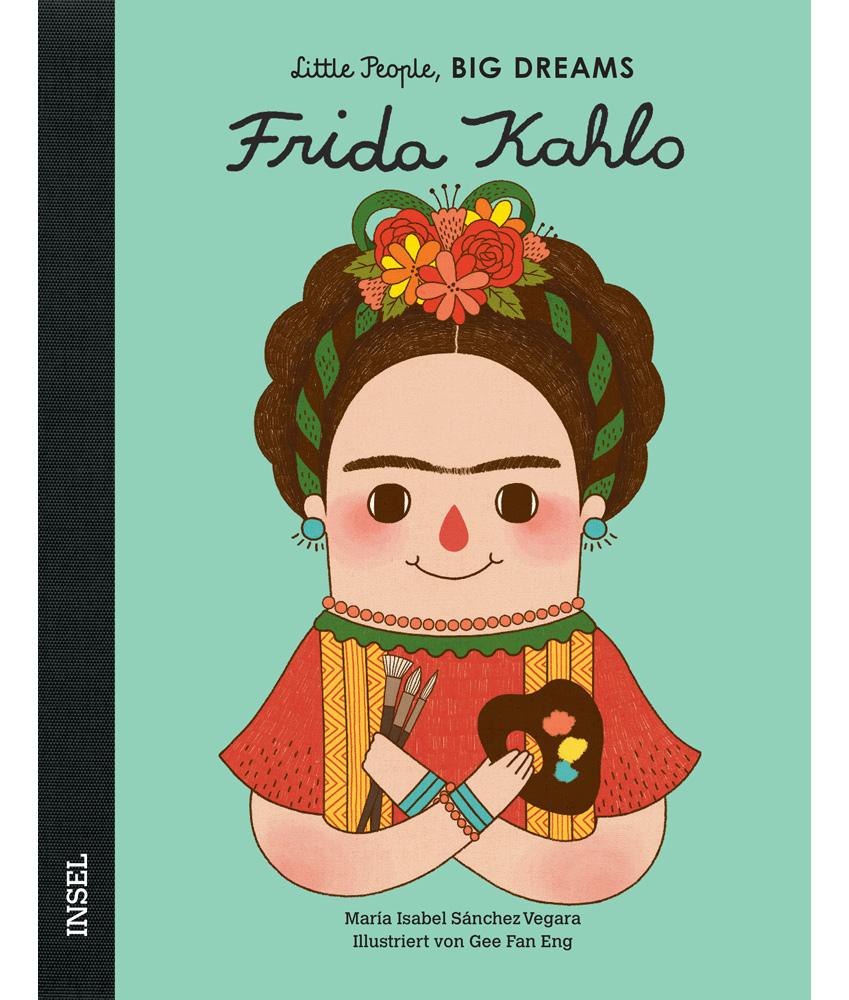 Little People, BIG DREAMS Frida Kahlo Kinderbuch - multi
