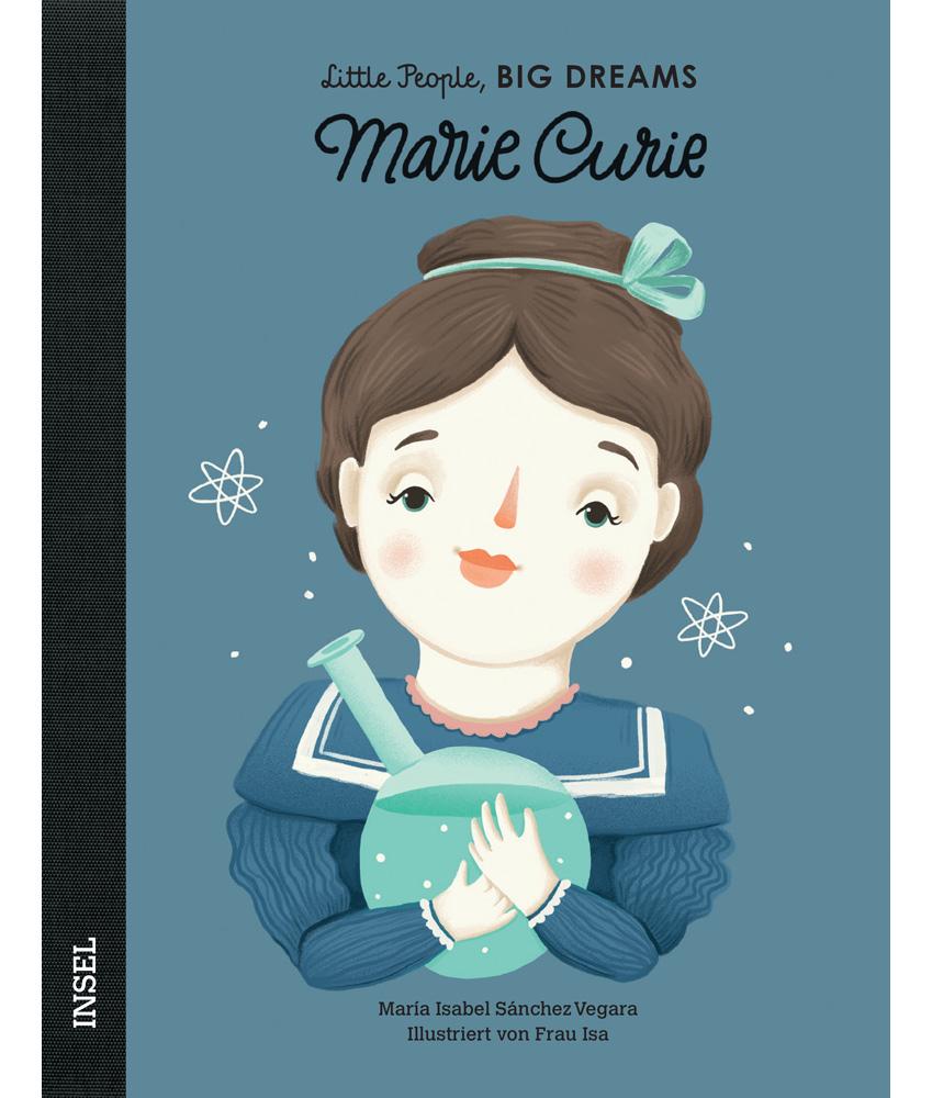 Little People, BIG DREAMS Marie Curie Kinderbuch - multi