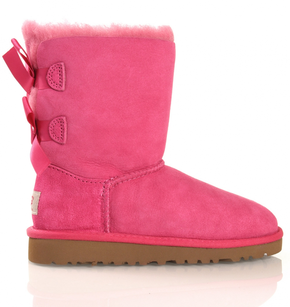 ugg boots pink mit schleifen. Black Bedroom Furniture Sets. Home Design Ideas