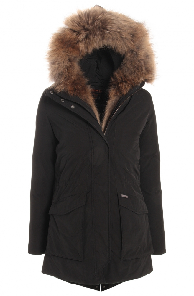 pretty nice e6259 d7962 Kids Style Lounge | Woolrich Military Parka with real fur ...
